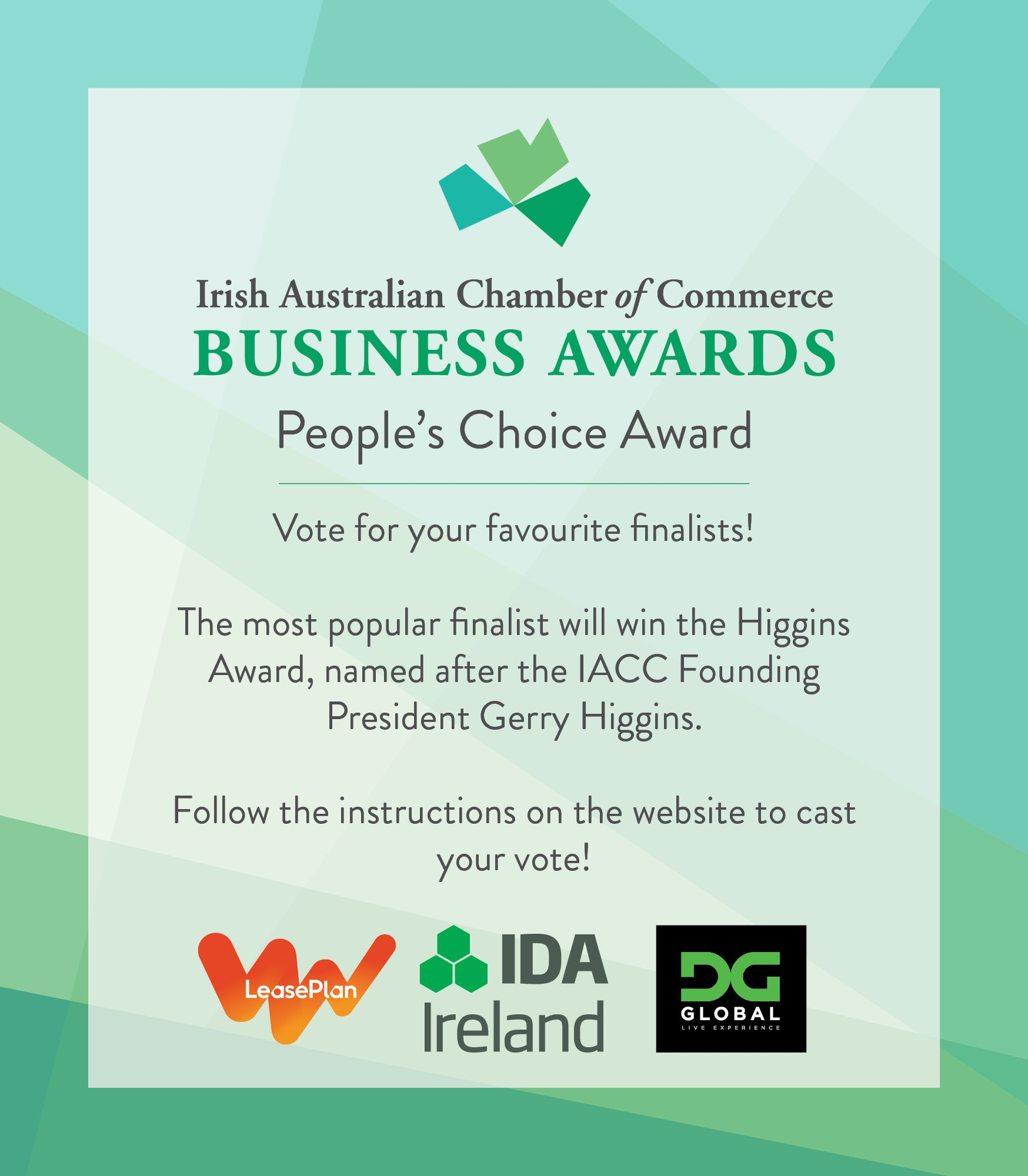 Irish Australian Business Awards Peoples Choice 2017